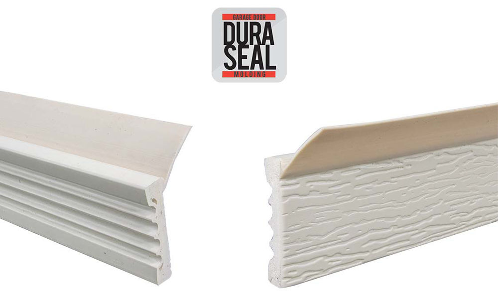 Dura Seal Stop Molding for garage doors by Action Industries