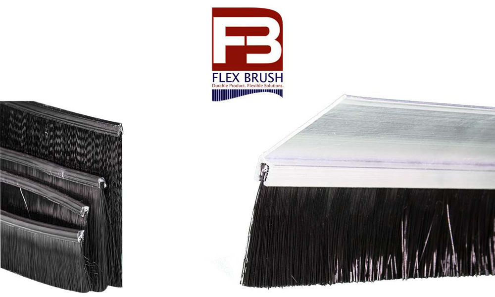 Flex Brush Seal for garage doors by Action Industries