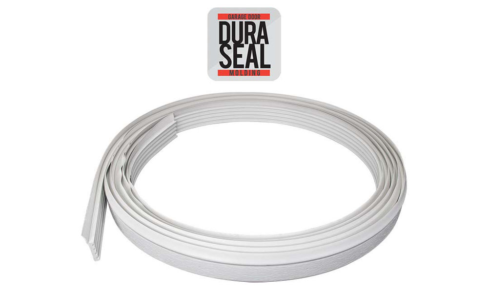 Coiled Dura Seal Stop Molding for garage doors by Action Industries