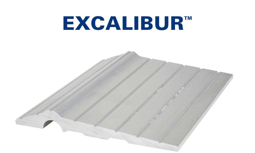 Excalibur™ Aluminum Threshold for garage doors by Action Industrie