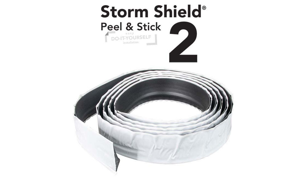 Storm Shield 2 Peel and Stick Thresholds for garage doors by Action Industries