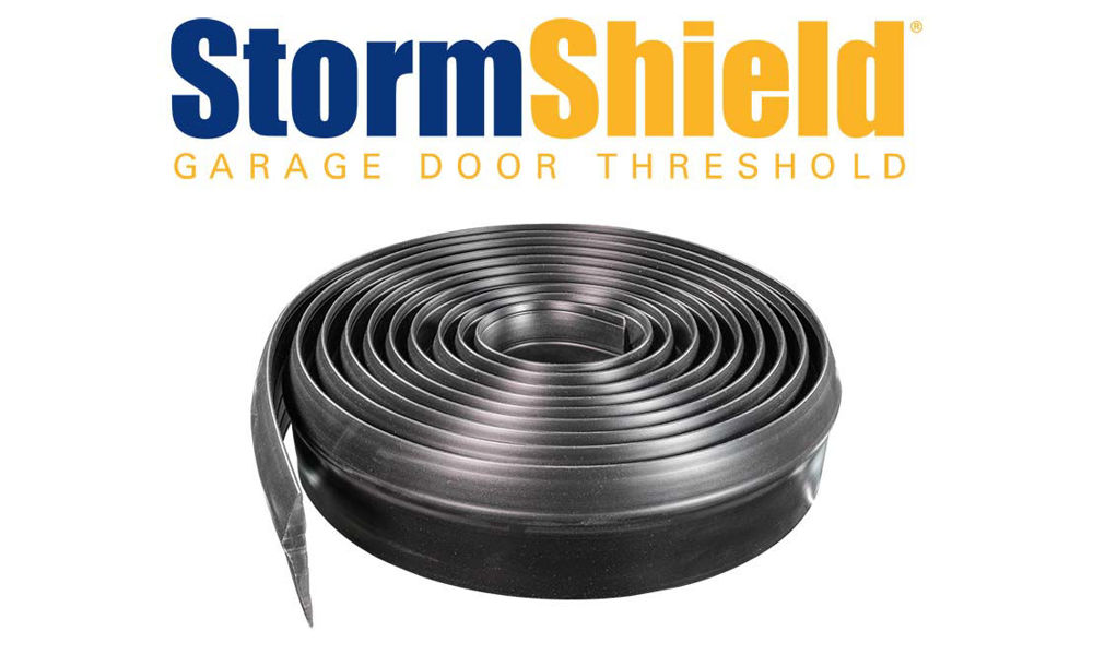 Storm Shield Thresholds for garage doors by Action Industries